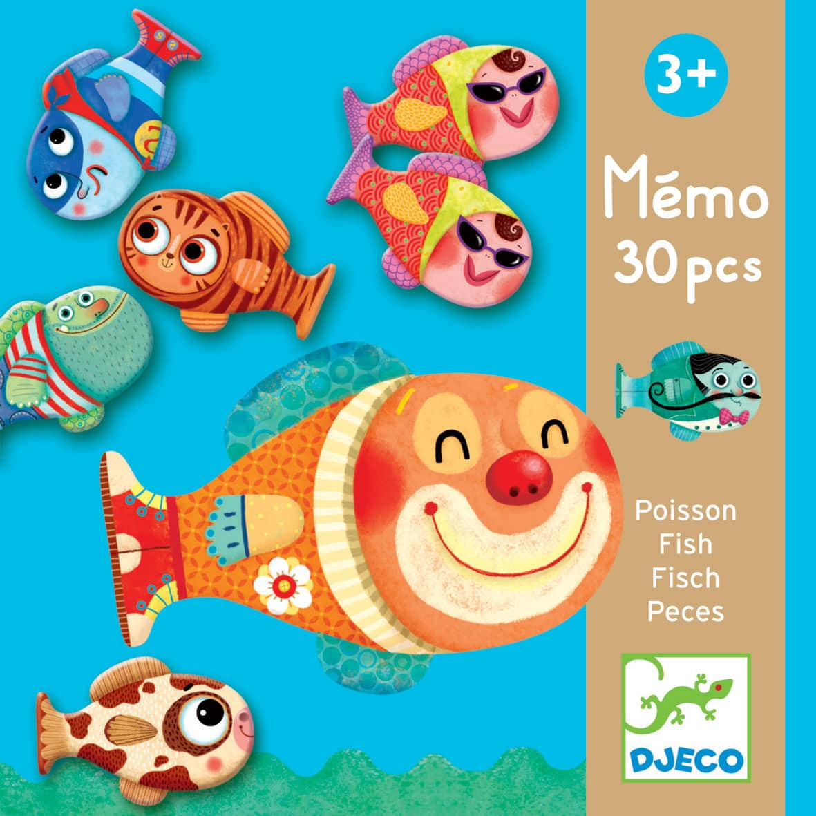 m mo poisson jeu de m moire et d 39 association pour enfant par djeco achat en ligne. Black Bedroom Furniture Sets. Home Design Ideas
