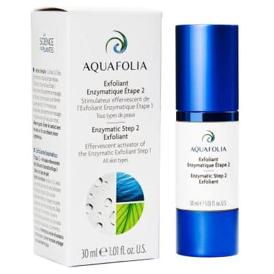 Exfoliant enzymatique étape 2 Aquafolia