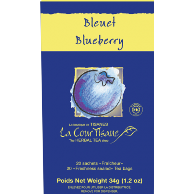 Tisane au bleuet La CourTisane de Four O'Clock par Trans-Herbe